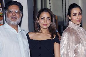 Amrita & Malaika Arora Celebrate Dad Anil Arora's Birthday