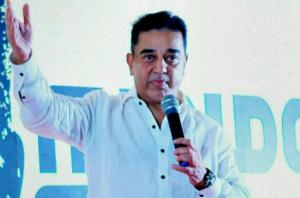 Kamal Haasan Launches Political Party 'Makkal Needhi Maiam' in Madurai