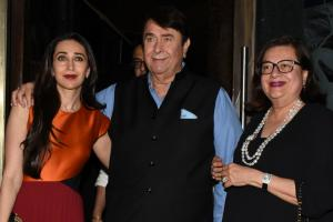Randhir Kapoor's Birthday Party: A Family Affair