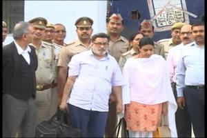 Watch: Rajesh and Nupur Talwar Walk Out of Dasna Jail