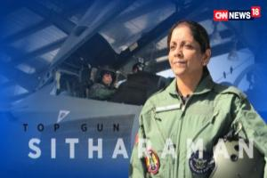 Watch: Nirmala Sitharaman Flies in Sukhoi Jet, Shatters Glass Ceiling