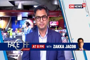 Face-Off With Zakka Jacob At 8 Pm I #ArmyAbovePolitics