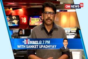 The Big Debate With Sanket Upadhyay I # CommunalKejriwal