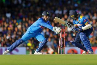 MS Dhoni Equals Kumar Sangakkara's Record in ODIs