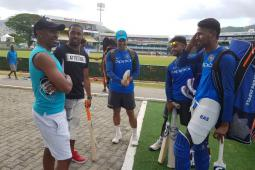 West Indies vs India: Dwayne Bravo Pays Surprise Visit To Tourists