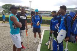 West Indies vs India: Dwayne Bravo Pays Surprise Visit To Tourists