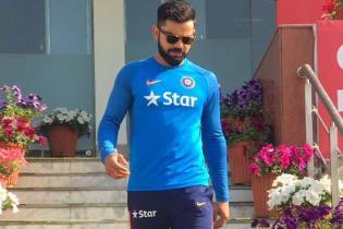 Caution First for Virat Kohli, Skips Nets to Rest Shoulder?