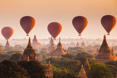 Hot Air Ballooning In Bagan Is a Magical Experience In Itself
