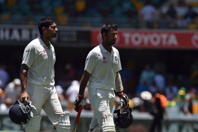 Vijay, Pujara Score 100s, Lead India to 319/4 on Day 3