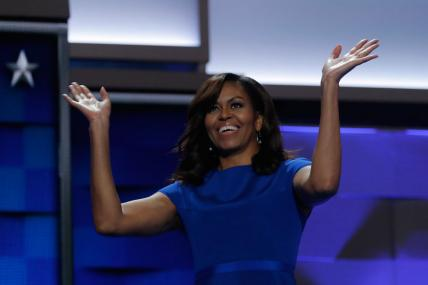Michelle Obama Delivers Glowing Endorsement of Hillary Clinton
