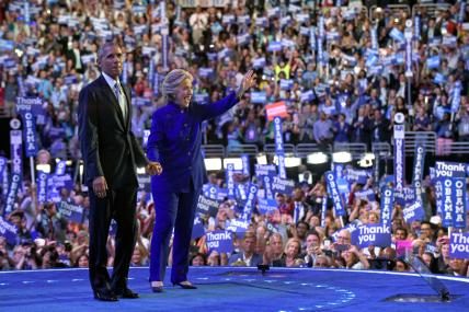 Barack Obama Cheers for Hillary Clinton: Carry Her Like You Carried Me