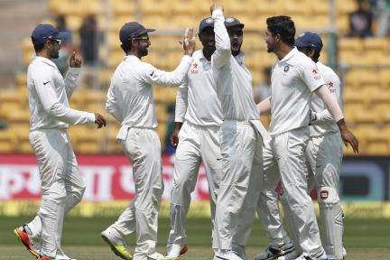 In Pics: India vs Australia, 2nd Test, Day 4 in Bengaluru