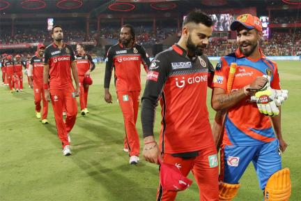 In Pics: RCB vs GL, IPL 2017, Match 31