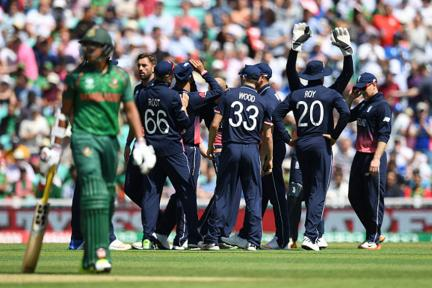 In Pics, Champions Trophy 2017: Eng vs Ban, Match 1