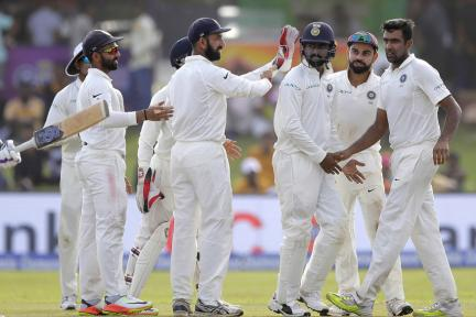 In Pics, Sri Lanka vs India, Second Test, Day 2