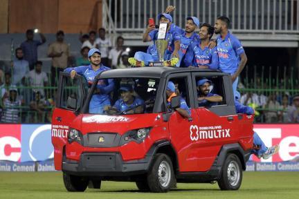 In Pics, Sri Lanka vs India, Fifth ODI