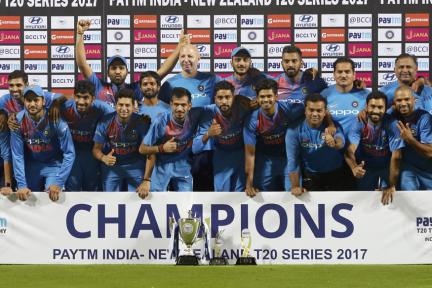 In Pics, India vs New Zealand, 3rd T20I