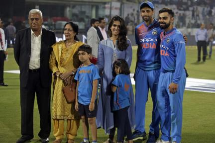 In Pics, India vs New Zealand, 1st T20I