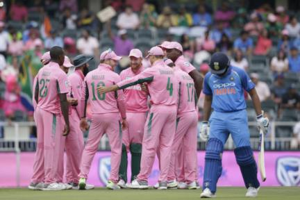 In Pics, South Africa vs India, 4th ODI in Johannesburg