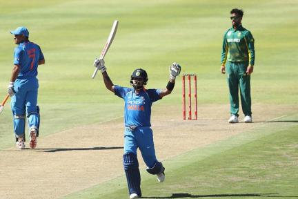 In Pics, South Africa vs India, 3rd ODI in Cape Town