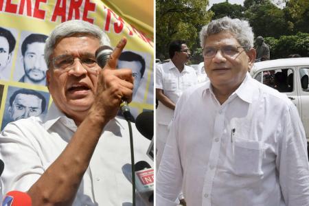 Modi Splits the Comrades, It's Karat Dogmatists vs Yechury Pragmatists