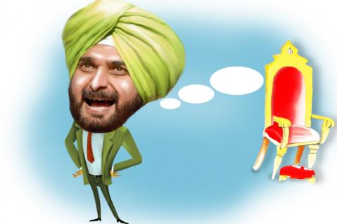 Working on Same Team, Captain Unable to Read Sidhu's Bouncers