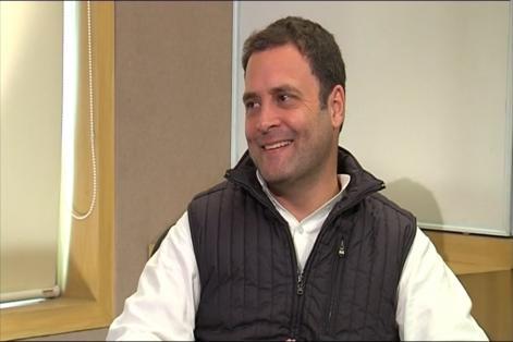 EXCLUSIVE: PM Modi Doesn't Talk of Vikas Now, Says Rahul Gandhi