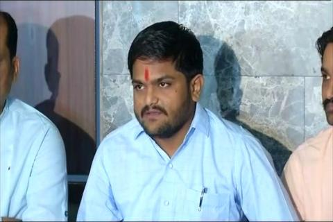 'Don't Vote for BJP': Hardik's War Cry after Quota Deal with Congress