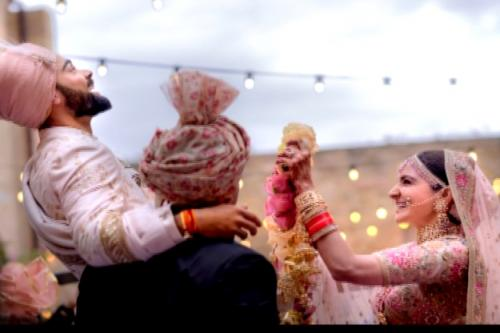 Anushka Sharma, Virat Kohli Tie The Knot In Tuscany