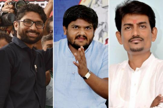 Congress's Poll Ticket Offer to Fiery Gujarat Trio Gets Bitter-Sweet Response; Two Patidar Leaders Join BJP