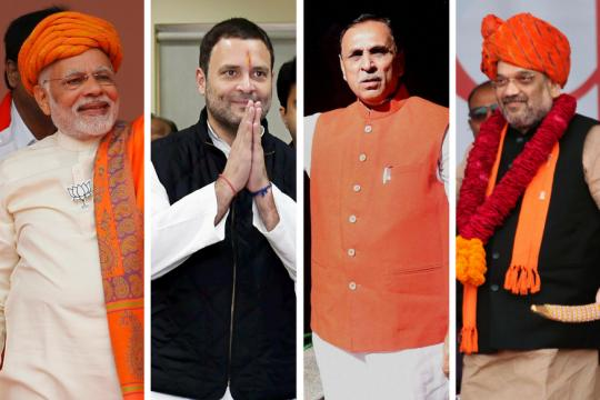 Exit Poll Result 2017 LIVE: BJP Will Hold on to Gujarat, Clinch Himachal from Congress, Show 5 Out of 7 Surveys