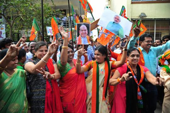 With Gujarat and Himachal in Its Bag, BJP Now Controls 19 of the 29 Indian States