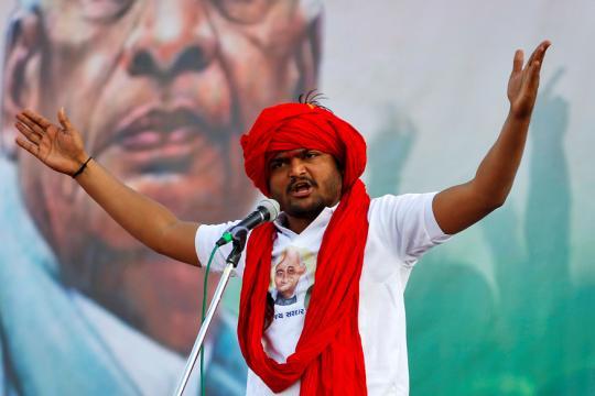 Despite Congress Loss, Hardik Patel Emerges as Strongest Patidar Leader after Keshubhai