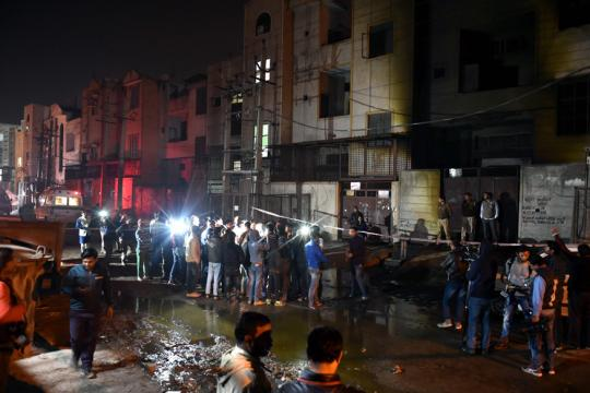 Bawana Fire: 17 Killed, Man Detained Says He Was Running Delhi Cracker Factory Alone