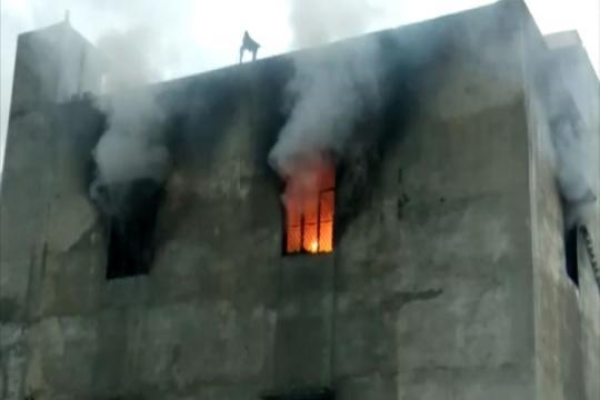 17 Killed as Fire Engulfs Cracker Factory in Delhi's Bawana, Govt Orders Probe