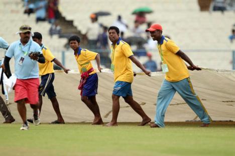 West Indies vs India Live Cricket Score: Rain Halts Play Again