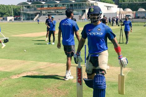 Champions Trophy 2017: MS Dhoni, Kohli, Rahane Sweat it Out in Nets