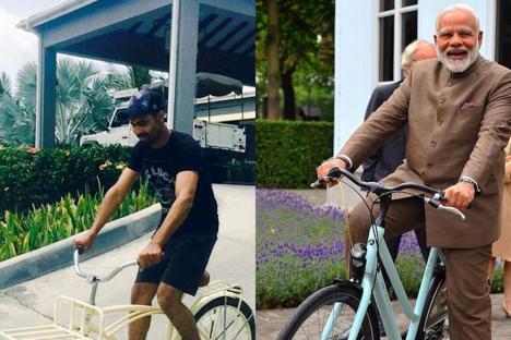 PM Narendra Modi Inspires Rockstar Ravindra Jadeja