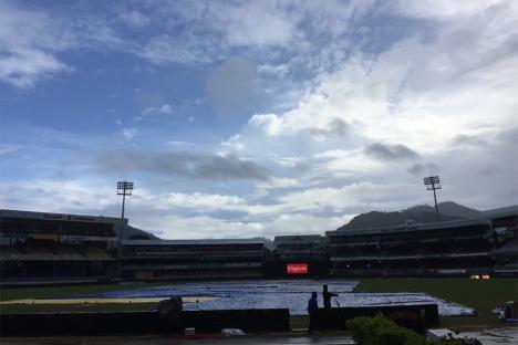 West Indies vs India 2017, Live Cricket Score: Rain Delays Toss in Port of Spain