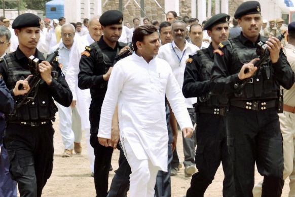 BSP-BJP in Competition on Using Foul Language: Akhilesh Yadav