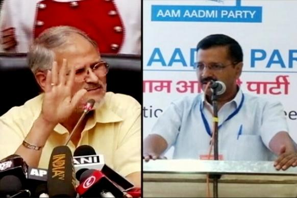 Arvind Kejriwal Likens L-G Najeeb Jung to Hitler Over DCW Appointment
