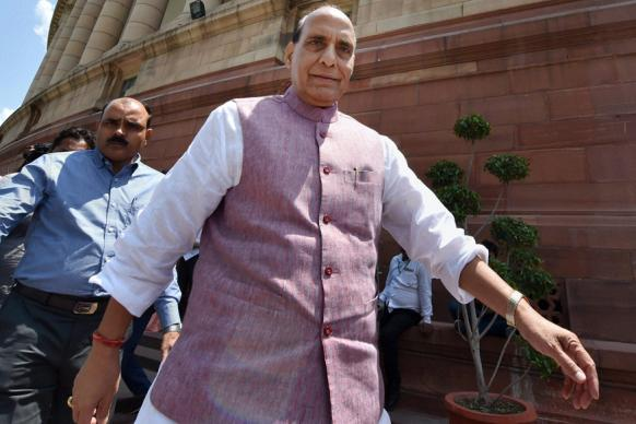 Rajnath Singh to Undertake Two-day Visit to Violence-hit Kashmir