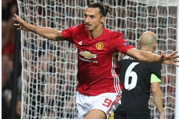 Zlatan Ibrahimovic Gets Manchester United Moving in Europa League