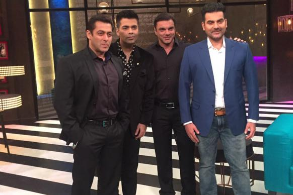 Salman Khan to Appear on Koffee With Karan Season 5 With His Brothers
