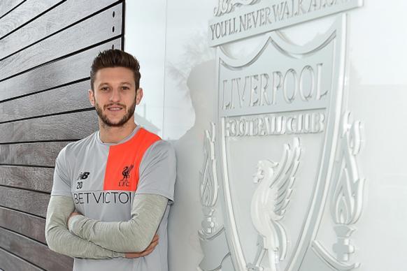 Adam Lallana Extends Liverpool Deal