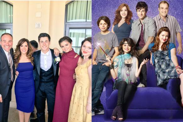 Selena Gomez Reunites With Wizards of Waverly Place Cast at David Henri's Wedding