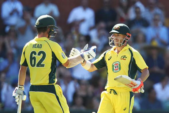 5th ODI: Warner-Head Record Stand Gives Australia 4-1 Series Win at Adelaide