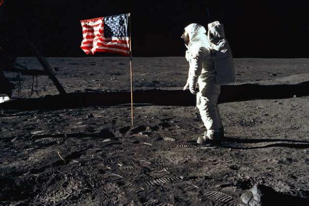 apollo 11 moon landing first step - photo #6