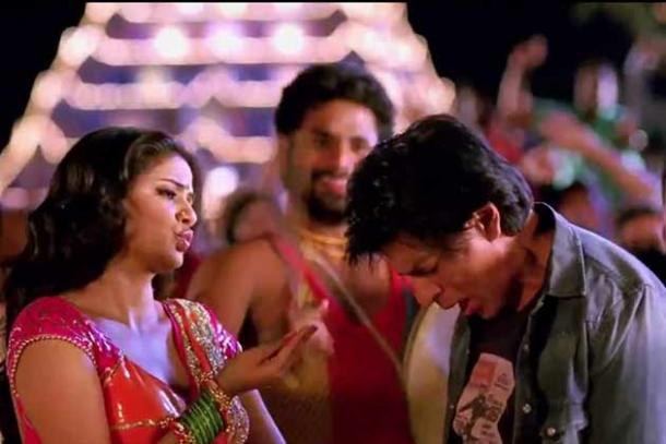 Shah rukh khan grooves like a professional dancer in for 1234 get on the dance floor actress name