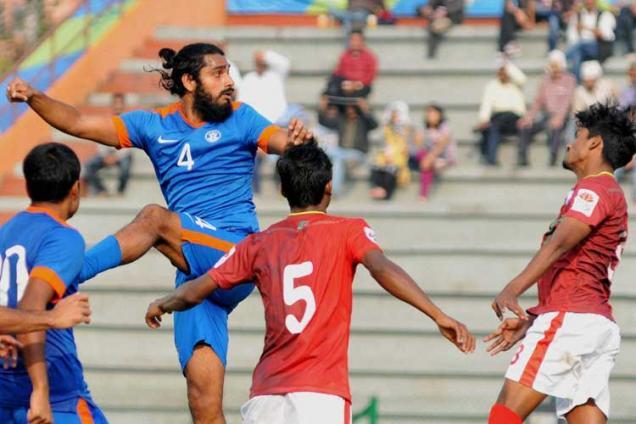 India U-23 march into SAG 2016 football final